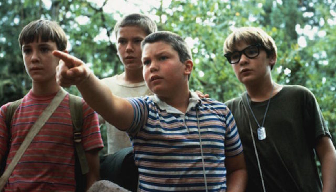 Stand by Me, the 1986 film directed by Rob Reiner, courtesy of Columbia Pictures about leadership